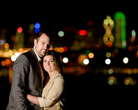 Dallas Skyline Engagement 9 Photo