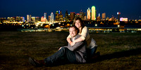 Dallas Skyline Engagement 11 Photo